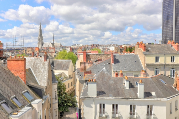 NANTES A VENDRE APPARTEMENT CATHEDRALE T3 - Photo