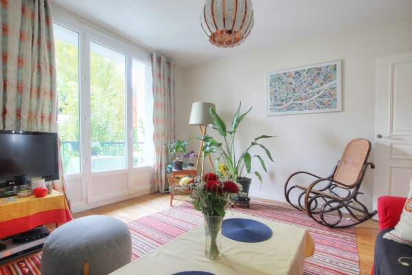 Appartement Nantes CANCLAUX MELLINET 4 pièce(s) 73.09 m2, parking, cave - Photo
