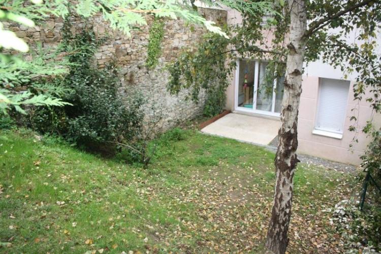 T2 appartement a vendre Nantes Chantenay rez de jardin