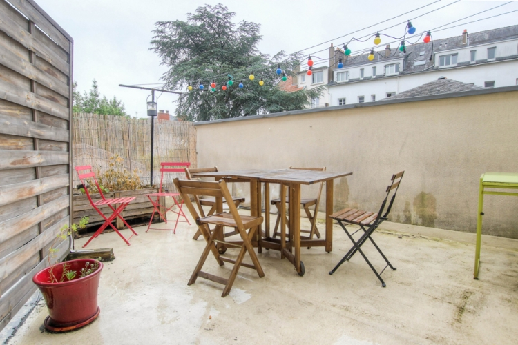 Appartement Nantes centre ville 2 pièces terrasse - Photo 1
