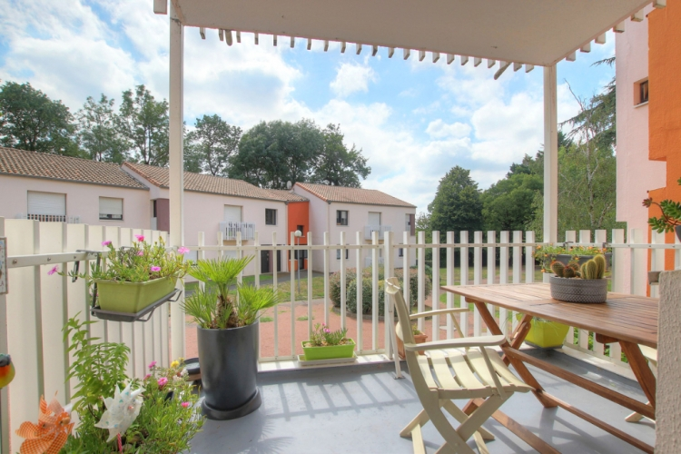 Nantes Sevres a vendre Appartement T4 terrasse et parking - Photo 1