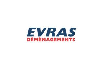 Logo d'EVRAS déménagement